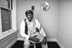 Chuck Berry - black and white. Photo credit: Lynn Goldsmith (Liss Gallery)