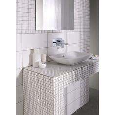 Carrelage mosaïque BANQUISE 10 x 10 cm/trame 30 x 30 cm - Sols & murs