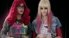 Roxy y Fausta,the look