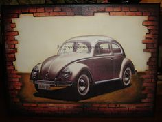 . Decoupage Art, Car, Automobile, Vehicles, Cars, Autos