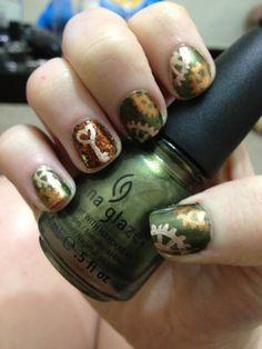 Legiolinde: Steampunk Nail Art