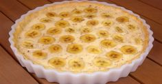 Cooking a delicious pie quickly Dessert Weight Watchers, Breakfast Casserole With Biscuits, Banana Pie, Banana Cream, Good Food, Yummy Food, Sweet Pastries, English Food, Dessert Recipes