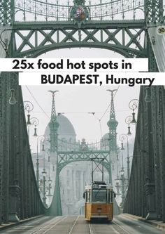 25x food hot spots in Budapest, Hungary - Map of Joy