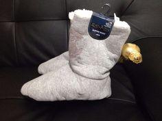 Primark Harry Potter Quidditch Warm Slipper Boots Ladies Cosy Slippers UK Gift  | eBay