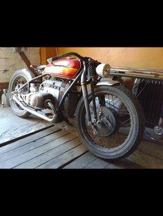 BMW Bobber #motorcycles #bobber #motos | caferacerpasion.com