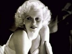 """Jean Harlow, called the original """"blonde bombshell,"""" became a platinum blonde when the color first came out in 1931 (salonbuzz.com)."""