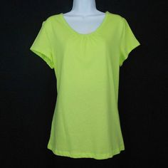 Add a pop of color to your lounge wear or sleepwear collection with this cool and comfortable cotton top featuring a v neck and short sleeves. #BackToSchool www.bevsthisnthatshop.com
