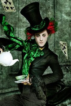 Mad hatter costume from the Royal Ballet's Alice in Wonderland