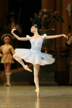 Oxana Skorik as Princess Florine in the ballet The Sleeping Beauty; choreography by Marius Petipa