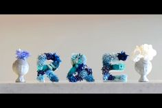diy letter decor | DIY letter decor inspiration