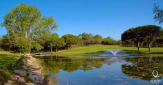 The beautiful Quinta do Lago North Course (formerly known as the Ria Formosa Course)