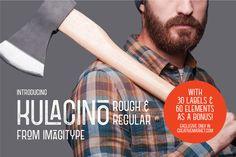 Kulacino Rough & Regular by Imagi Type Co. on @creativemarket