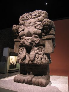 Mayan & Aztec Mother Sky-Goddess Coatlicue…snakes leaned into her ears and whispered the secrets of the universe (i.e. the secrets of herself).