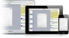 App que toma foto a tu prototipo en papel y en la aplicación puedes darle interactividad simulando botones y links.
