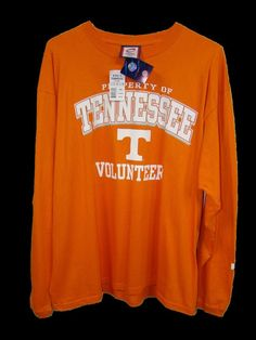 New CADRE Athletic Mens Tennessee Volunteers Mens Long Sleeve T Shirt XL NWT #Cadre #GraphicTee
