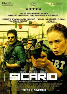 Sicario (2015). Dir. Denis Villeneuve