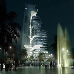 Abdul Latif Jameel's Corporate Headquarters _ Andrew Bromberg of Aedas Designs @ Jeddah