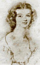 Ellen Nussey sketch by Charlotte