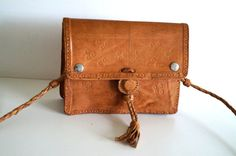 Boho Bohemian style bag. Vintage Purse. Bag. by vintagdesign