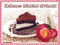 good tasting --> I had the longing for some dark chocolate! Chocolate Treats, Chocolate Cake, Evo, Panna Cotta, Nom Nom, Birthday Cake, Meals, Snacks, Dining