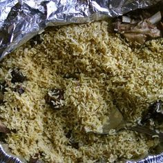 Pilau!    Swahili Recipes on Facebook.