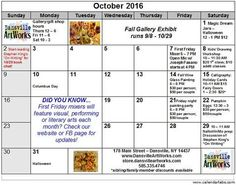 Check out all the fun events happening in October!