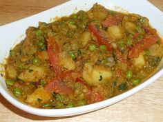 Aloo Mattar (Potatoes and Green Peas) | Manjula's Kitchen | Indian Vegetarian Recipes | Cooking Videos