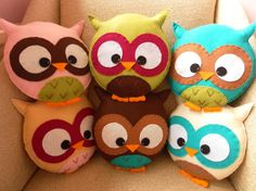 Custom Large Owl Plush Toy. I say they are for Miles, but really they would be for me!