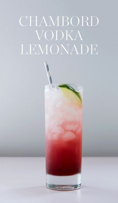 Lemonade, vodka and @ChambordUS... what could be more refreshing? Whip up a few at a time and pass them around on a tray for guests to sip in the sunshine. — via @PureWow