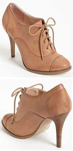 Nude Sabine Oxfords <3