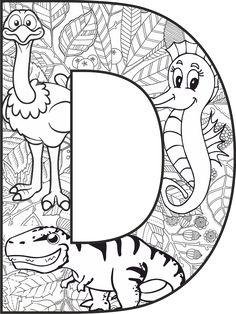 D Harfi Mandala Çalışması Coloring Letters, Alphabet Coloring Pages, Disney Coloring Pages, Coloring Pages To Print, Colouring Pages, Printable Coloring Pages, Adult Coloring Pages, Coloring Sheets, Coloring Books