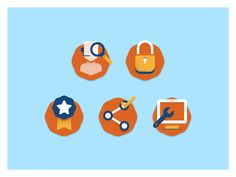 Compliance Building Icons by Jason Smith for Column Five