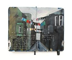 Journal pages by Missy Dunaway.