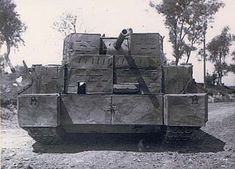 T-34 with concrete armour