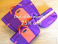 "Have you already checked out the latest color Plum Orange? With our deal of the month you get 25% off from all sizes of Plum Orange.Use the code ""APRIL25"" at the checkout page of insjo.com.  Valid from 9.4.2018to 22.4.2018. The Mont, Latest Colour, Plum, Tote Bag, Orange, Bags, Color, Instagram, Handbags"