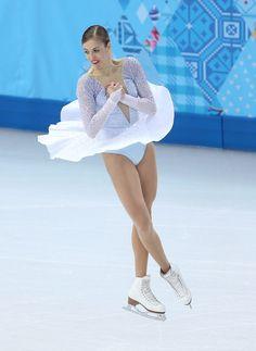 Carolina Kostner of Italy competes in the Figure Skating Team Ladies Short Program. 2/8/2014 5:30:00 PM Sochi 2014