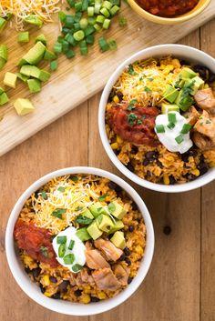 BBQ Chicken Burrito Bowl