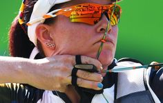 Pin for Later: Die Olympioniken haben die Nägel schön Natalia Sanchez, Bogenschießen, Kolumbien