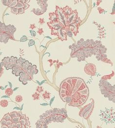 Palampore Mauve/Rose wallpaper by Sanderson