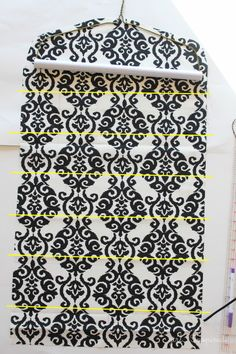 Hanging Jewelry Organizer - sewing tutorial