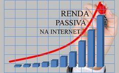 O que é renda passiva? O que fazer para ganhar dinheiro na internet? Inbound Marketing, Marketing Online, Digital Marketing, 233, Sem Internet, Videos, Blog, Chart, Make Money On Internet