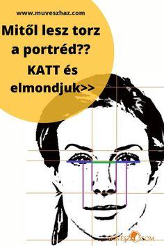 Portré rajzok - Mitől lesz tort a portré!! Katt és elmondjuk >> Memes, Drawings, Movie Posters, Painting, Canvas, Art, Draw, Tela, Art Background