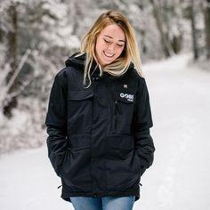 Shift Womens Heated Snowboard Jacket - 9 Hour Battery - GOBI HEAT® Heated Jacket, Comfort Design, Range Of Motion, Winter Jackets, Hoodies, Snowboard, Women, Fashion, Winter Coats