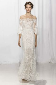 Reem Acra - Is on my own personal top 10 wedding gowns designers.