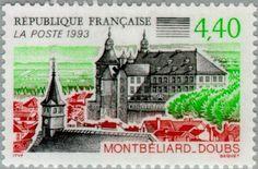 Sello: Montbeliard (Doubs) (Francia) (Tourism) Yt:FR 2826,Mi:FR 2975