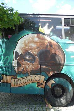 Mr DHEO - Putrica - Street art em Freamunde, Portugal