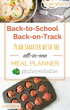 Get ready for back-to-school season. Receive a weekly meal plan and grocery list…