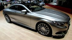 2015 Mercedes S-Class Coupe S500 - Exterior, Interior Walkaround and Infotainment System Walkthrough