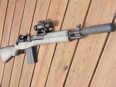 Custom M14 #1 I want and I want and I want!
