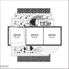 May 2020 Sketch Scrapbook Layout Sketches, Scrapbook Templates, Card Sketches, Scrapbooking Layouts, Scrapbook Pages, Digital Scrapbooking, Page Maps, Picture Layouts, Layout Inspiration